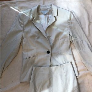 H&M White Suit (Skirt) Set